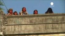Des Amérindiens expulsés de Rio en vue du Mondial 2014