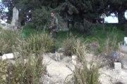 Okul bahçesi mezarları oldu