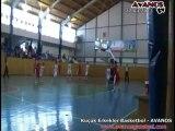 Küçük Erkekler Basketbol Yarı Finalleri Avanos 27 nisan