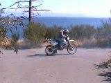 regis burning moto crash