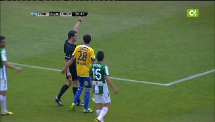 El árbitro se 'cargó' el encuentro en cinco minuto - Vídeos de 2012/2013 de la UD Las Palmas