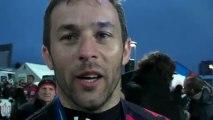 Rugby Pro D2 - Manu Cassin réagit après la remise du bouclier de Pro D2 à Oyonnax