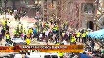 Boston Marathon Explosion Video, Pictures_ Heroes Emerge from Boston Marathon Bombing
