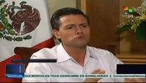 Peña Nieto habla de la relación de su país con EE.UU.