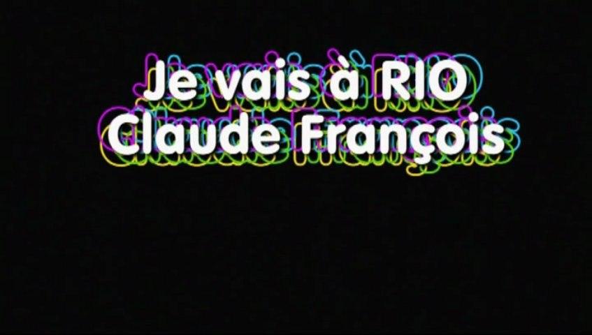 Karaoke -  Je vais à Rio de Claude François