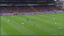 But Yoann GOURCUFF (54ème) - Olympique Lyonnais - AS Saint-Etienne (1-1) - saison 2012/2013