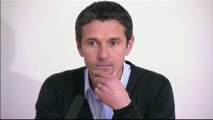 Conférence de presse Olympique Lyonnais - AS Saint-Etienne : Rémi GARDE (OL) - Christophe  GALTIER (ASSE) - saison 2012/2013