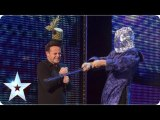 Aaron Crowe au Britain's Got Talent