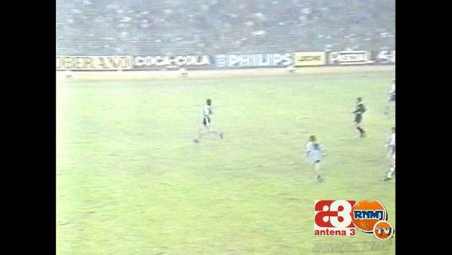 Cuarto gol de Santillana Real Madrid - Borussia Monchengladbach Antena 3 Radio (11/12/85)