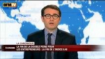 Chronique éco d'Emmanuel Duteil: les entrepreneurs en faillite plus fichés - 29/04