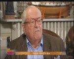 """Extrait 1 - Déshabillons-les : Jean-Marie Le Pen sur sa phrase """"un point de détail"""""""