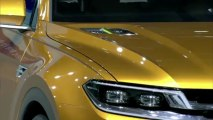 VW CrossBlue Coupe presented at Auto Shanghai