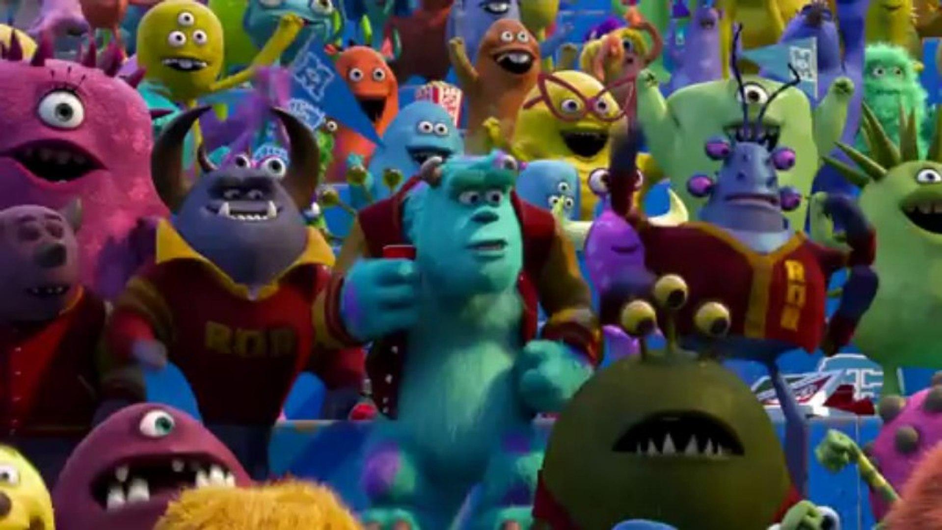 Monsters University Official Trailer #2 (2013) Monsters Inc Prequel Pixar Movie HD -  [720p]