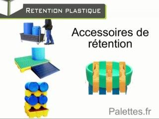 La rétention plastique, de l'obligation à la nécéssité / Europ Stocks Services - Palettes.fr