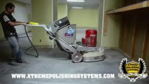 Terrco 3100 - Grinding & Polishing Concrete   Floor Prep