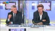 Hollande : la paix avec les patrons ? dans Les décodeurs de l'éco - 29 avril 2/5