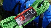 Corde Millet Absolute TRX 9 Triaxiale Series 50 mètres montagne escalade alpinisme
