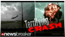 GRAPHIC VIDEO: Plane Crash Caught On Tape May Show Final Moments of Doomed Cargo Plane
