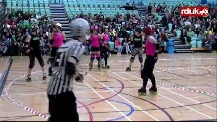 Anarchy III: London Rollergirls vs Auld Reekie Rollergirls (1st Half)