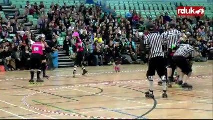 Anarchy III: London Rollergirls vs Auld Reekie Rollergirls (2nd Half)