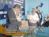 Ayacucho Mama Angelica recibe homenaje del Congreso