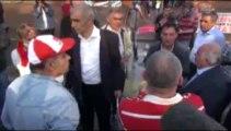 Beşiktaş Meydanı'nda 1 Mayıs nedeniyle toplanan eylemcilere polis müdahale etti.