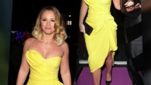 Kimberley Walsh Flaunts Her Curves at London Charity Event
