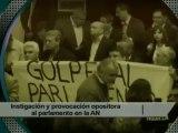 Instigación y provocación opositora al parlamento en la Asamblea Nacional 02_05_2013
