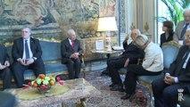 Roma - Napolitano ha ricevuto il Presidente di Israele Shimon Peres (01.05.13)