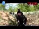 Footage of Lebanese Salafi Imam Ahmad Al-Assir Fighting in Syria