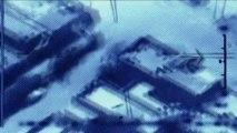 """Pilote de drones : """"Les gens récupéraient des morceaux de corps dans les ruines"""""""