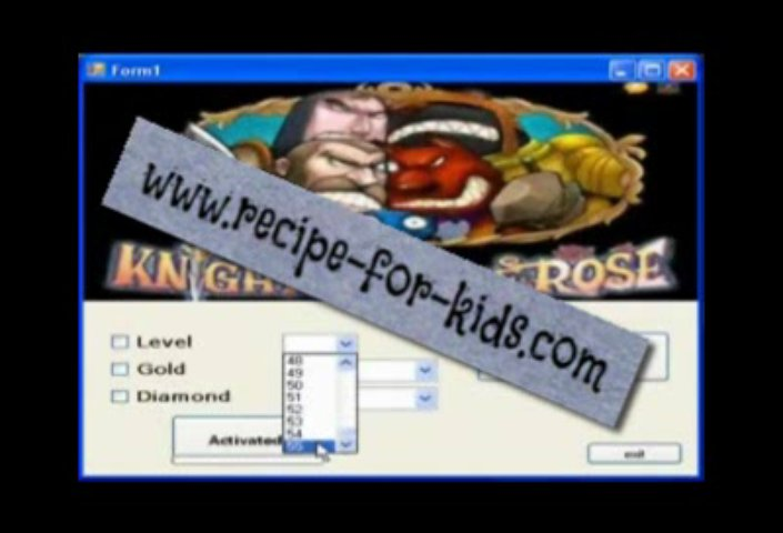 Newly Updated Knights of the rose  Cheat Tools (100% Working)