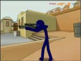 Funny Counter Strike 1.6 (De_Dust2)