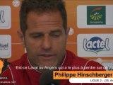 [L2-J35] Angers - Laval, le point presse avec P.Hinschberger