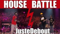 House dance battle : Cebo & Hideki (Canada) vs Mamson & Babson (Spain)