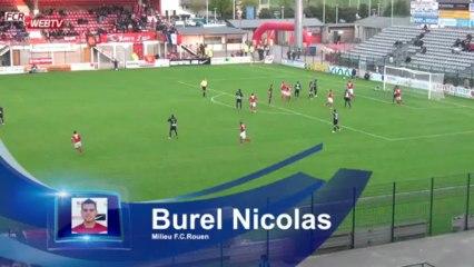 FCR - Luzenac : Résumé du match