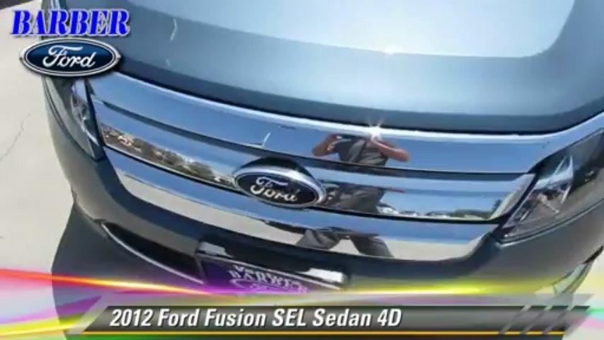 2012 Ford Fusion SEL – Barber Ford, Ventura