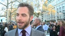 Chris Pine at Star Trek into Darkness premiere