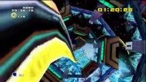 Sonic Adventure 2 Battle - Hero - Sonic : Final Rush - Mission 4 : Atteignez le but en 5 minutes 0 secondes !
