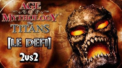 Le Défi sur Age Of Mythology The Titans (2vs2)