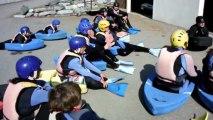 hydrospeed sport détente printemps Roquebrune 2013