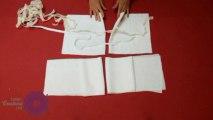 Cours de couture - Apprendre à coudre une jupe à volant pour fillette - Tuto de couture