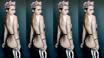 Miley Cyrus Almost Naked Photo Shoot!
