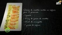 crevettes safranées yaourt  03 05 2013