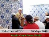 Cuma Vaaz'ı Yeraltı Camii İmam Hatibi / Hafız Ümit AYDIN