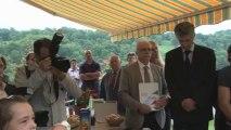 Filière porc noir de Bigorre : Déplacement de Stéphane Le Foll (Hautes-Pyrénées)