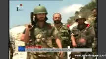 'Syrian Army completely controls Southern Palmyra' [29-Aug-2013 Syria News ENG]