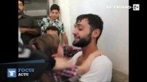 Syrie : émouvantes retrouvailles entre un père et son fils