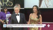 Michael Douglas And Catherine Zeta-Jones -- Reportedly Separate