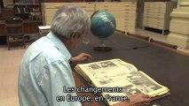 """""""Salvador Allende en campagne en 1970"""" et """"Hector Herrera consultant les archives dans la bibliothèque nationale de Santiago"""". Documentaire Victor Jara"""